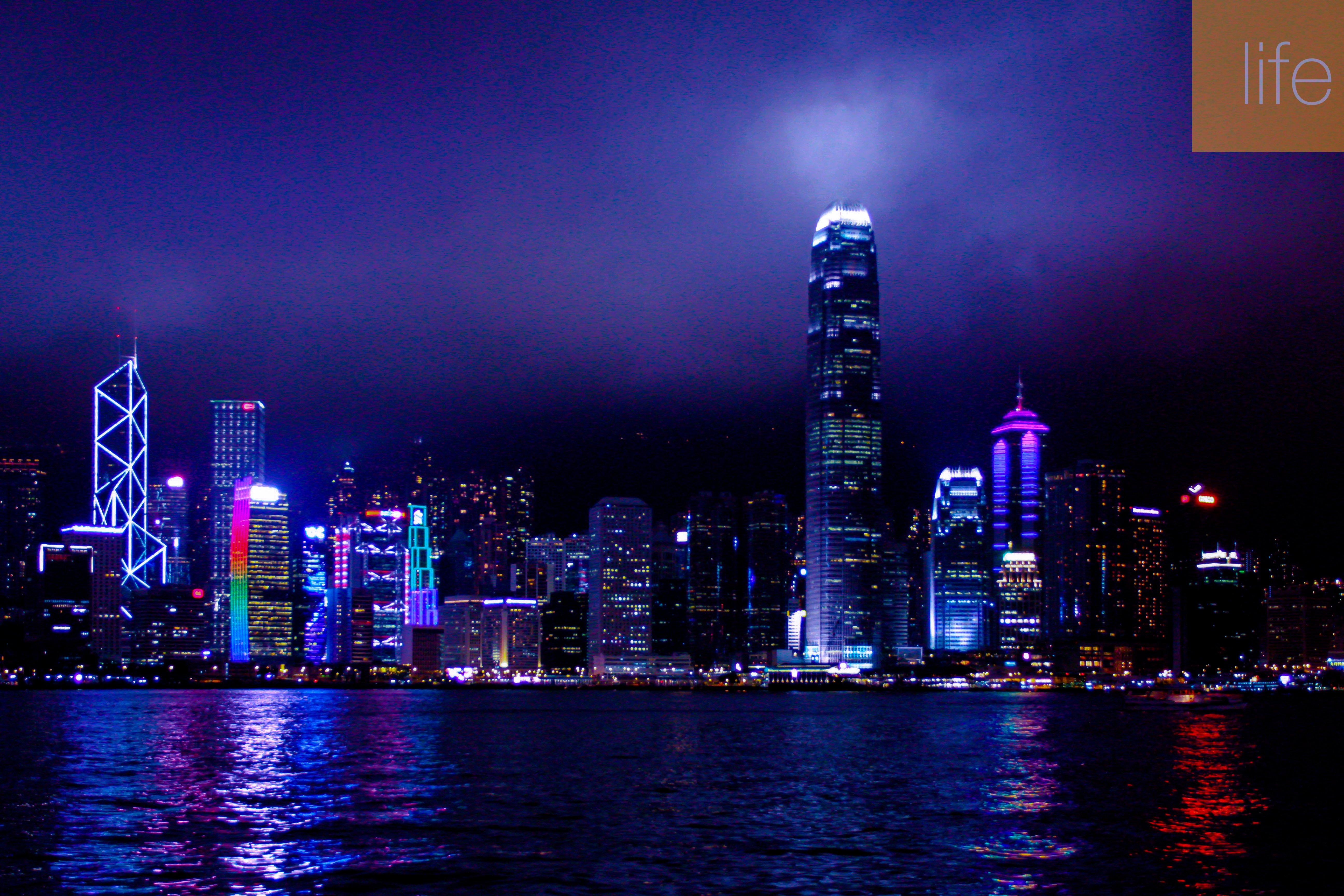 HK Night Skyline 3