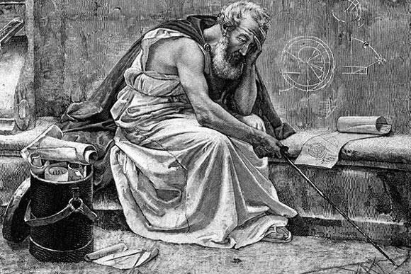 Arhimed uskliknu : Eureka!