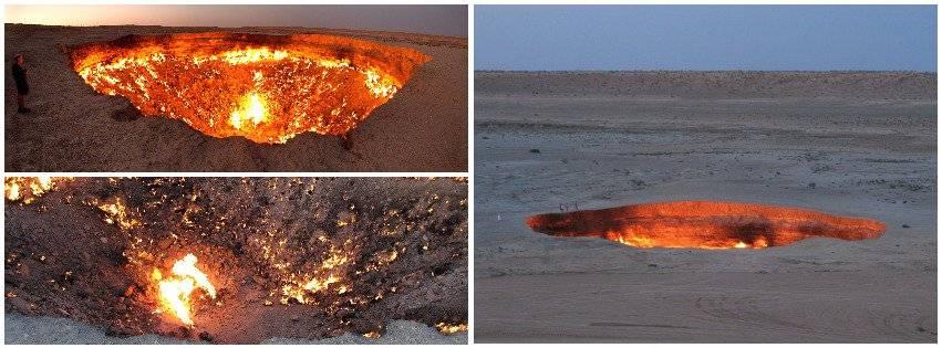 Vrata pakla – krater koji gori neprestano od 1971. godine