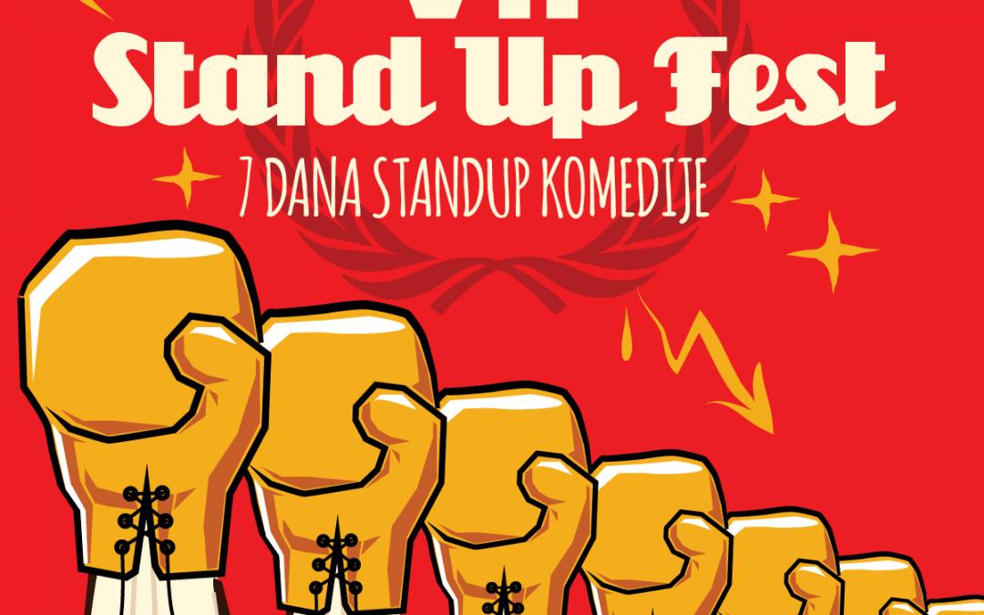 Sedmi StandUp festival je pred nama!
