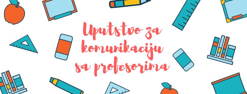 Studentski bonton: Uputstvo za komunikaciju sa profesorima