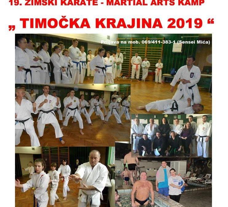 Najstariji zimski karate kamp u Srbiji – Gamzigradska banja